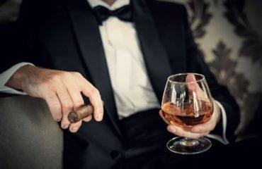 Abbinamento grappa e sigari