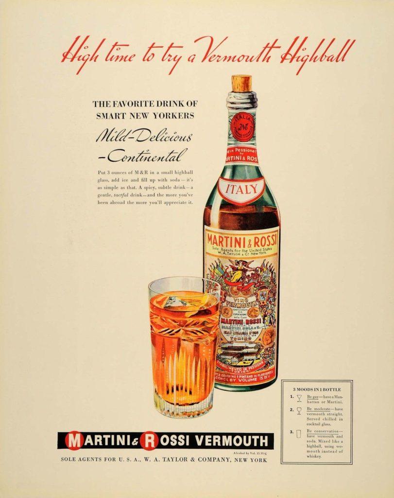 vermouth pubblicità vintage
